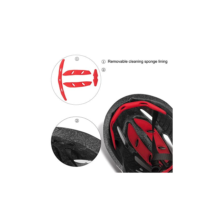 Basecamp Bike Helmet CPSC Certified with Detachable Magnetic Goggles Visor Shield Adjustable Men Women Road & Mountain Biking Bicycle Helmet Safety Protection