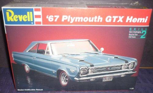 #7359 Revell '67 Plymouth GTX Hemi 1/25 Scale Plastic Model Kit