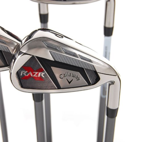 New Callaway RAZR X Irons 6-PW Ladies Flex Graphite RH