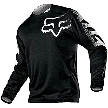 Fox Racing Mens Black Defend Thermo Dirt Bike Hooded Jersey MX ATV 2020