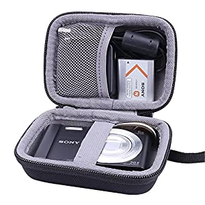 Hard Travel Case for Sony DSC-W830/W800/W810 Digital Camera by Aenllosi