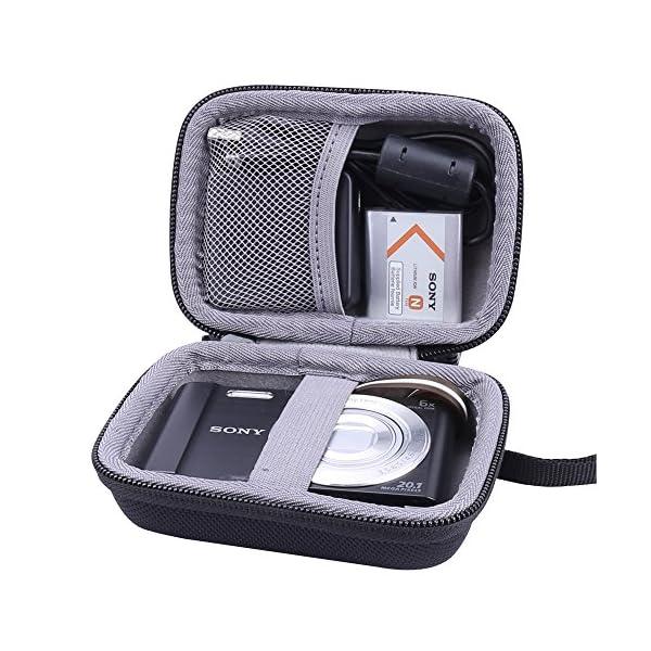 51wPn%2B4AFCL. SS600  - Aenllosi Hard Travel Case for Sony DSC-W830/W800/W810 Digital Camera