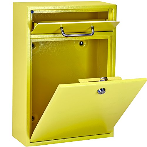 Mail Boss 7423 High Security Steel Locking Wall Mounted