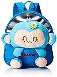 Generic Kids Gift Ideas for Kids Boys Girls Canvas School Bag Animal Cartoon Backpack Satchel School Book Bag (Blue)