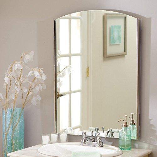 Seasons Frameless Wall Mirror by Decor Wonderland