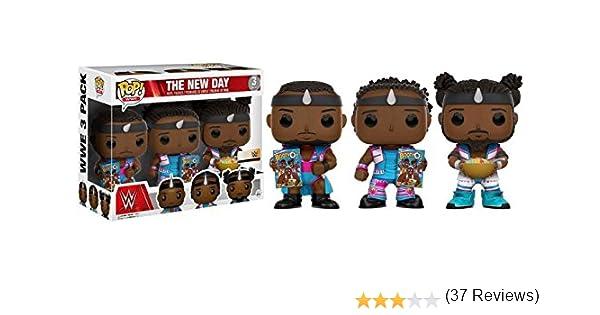 Funko - Figurine WWE - 3 Pack Big E Xavier Woods Kofi Kingston Pop ...