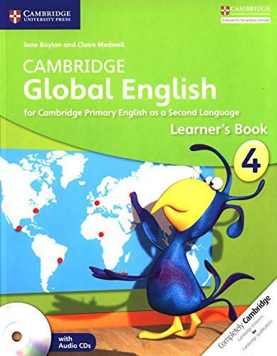 Cambridge Global English Stage 4 Learner's Book with Audio CD: for Cambridge Primary English as a Second Language (Cambridge Primary Global English) Paperback – Audiobook, May 22, 2014