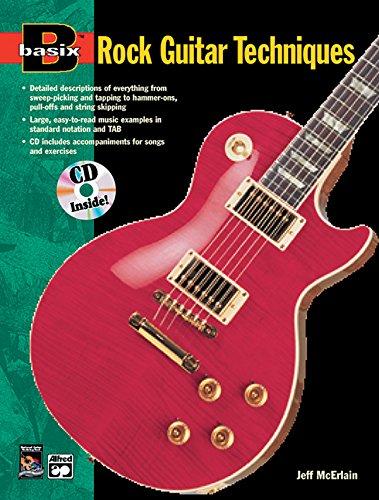 Basix Rock Guitar Techniques: Book & CD (Basix(R) Series) ()