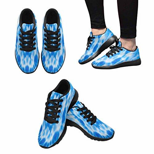 Scarpe Da Corsa Trail Running Da Donna Jogging Leggero Sportivo Da Passeggio Sneaker Atletico Sfocatura Tie Dye Colori Luminosi Background Multi 1