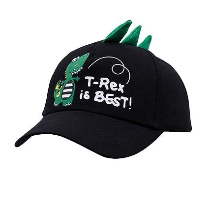 E-House - Gorra de béisbol ajustable, diseño de dinosaurio: Amazon ...