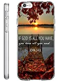 iPhone 6S Hard Shell Case 4.7 Inch Ultra Slim Thin If God is All You Have You have All You Need John 14:8