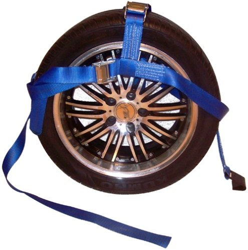 Adjustable Tire Tie Down w/2 Cam buckle and Flat hook