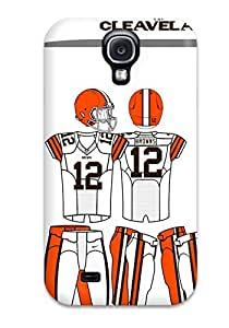 Tpu JoelNR Shockproof Scratcheproof Clevelandrowns Hard Case Cover For Galaxy S4