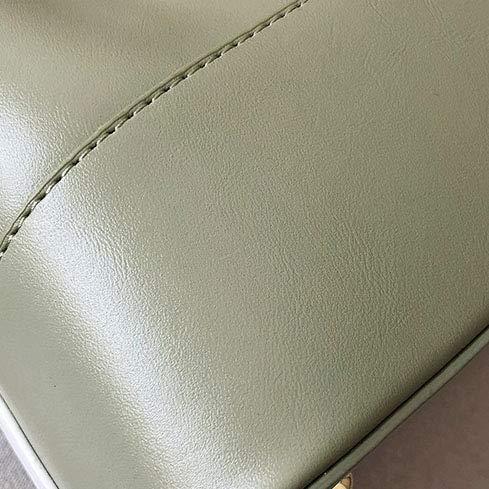 Damhandväska messengerväska damväska dammode färg block axelväska kuvertväska topphandtag plånbok axelväska, grön 21 cm x 21 cm/grön