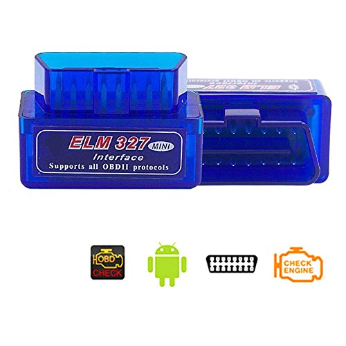 ETbotu Super Mini ELM327 Bluetooth V2.1 OBD2 Wireless Car Diagnostic Scanner Universal OBD II Auto Scan Tool Work On Android