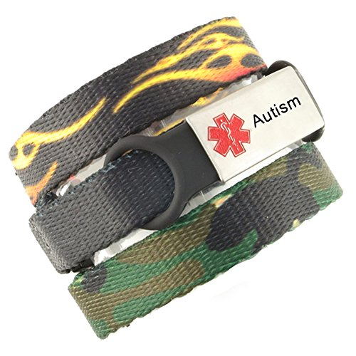 3 Bracelet Value Pack | Autism, Medical Alert