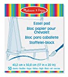 Melissa & Doug 14102  Art Essentials Easel Pad (43 x 51 cm) With 50 Sheets of White Bond Paper