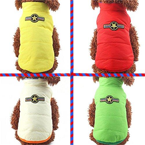 Gilet Da E Hoodies Indossare Laterali Chihuahua Vestiti Pet Cappotto Inverno Le Per Due Xl Pinkdose Piccole Doppia Da Essere Medie Compagnia Cane Vestito Caldo Sid Di Lusso Del Arancio Possono Cucciolo qw8Y1