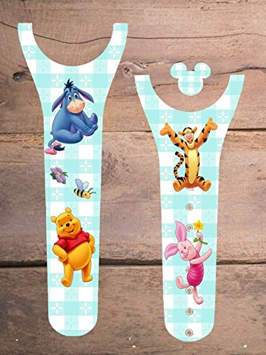 Disney MagicBand Decal Sticker Skins Winnie the Pooh Eeyore Tigger and Piglet Magic Band 2.0