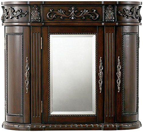 Home Decorators Collection Chelsea 3 door Mirror Wall Bath Cabinet, 28