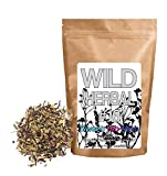 Wild Herbal Tea #16 Sweet Hib-Mint Blend by Wild Foods - 3 Ingredient Tea with Hibiscus, Peppermint, Stevia, 100% Natural