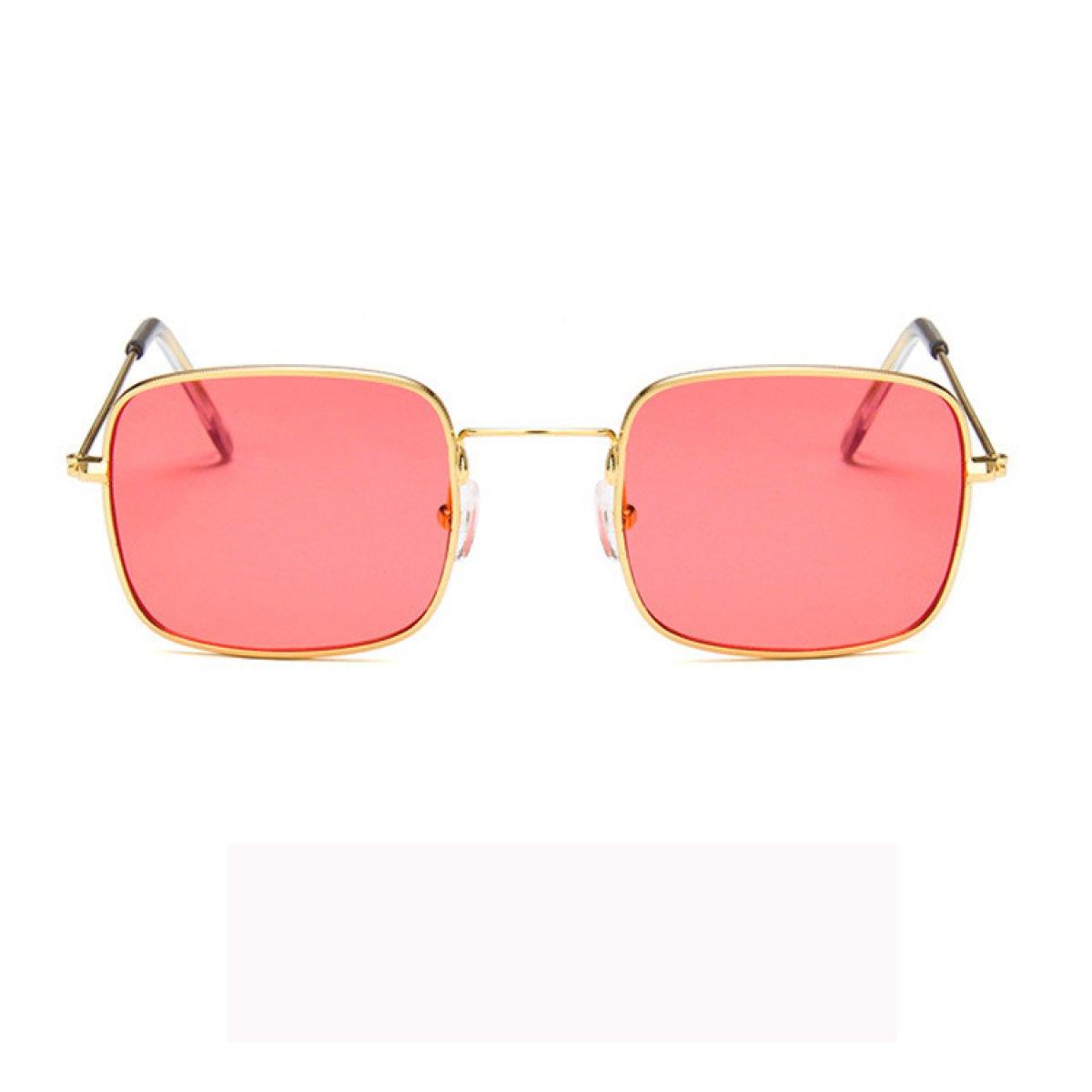 DONG Sonnenbrillen Sonnenbrillen Gläser UV-Schutz Retro-Boxen Männer und Frauen Transparent Ocean Filme Muttertag Geschenke ( Farbe : D ) B7SQSPUz