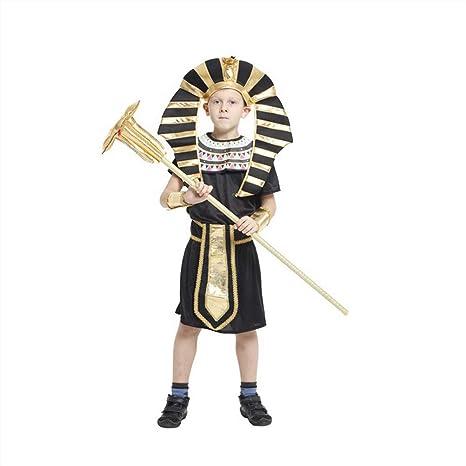 Lvvvs NiñO Traje De Rendimiento Disfraz De Halloween FaraóN ...