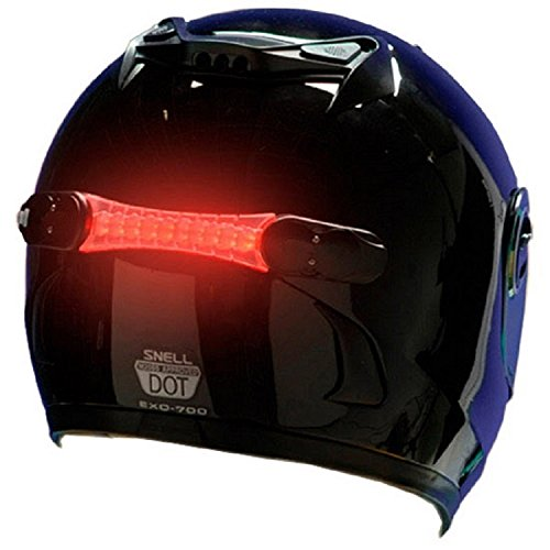 wireless helmet brake light with 18 leds
