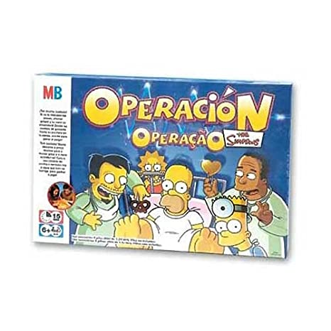 OPERACION THE SIMPSONS: Amazon.es: Juguetes y juegos