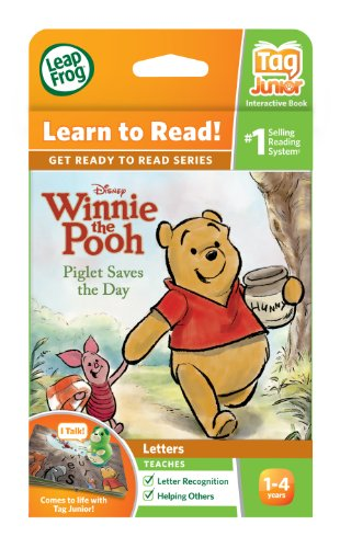 LeapFrog LeapReader Junior Book: Disney's Winnie the Pooh: Piglet Saves the Day (works with Tag Junior) by LeapFrog (Image #3)