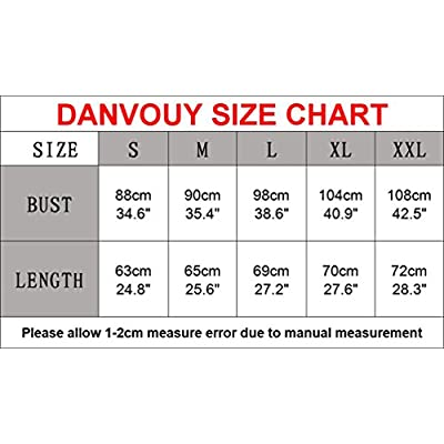 DANVOUY Womens T Shirt Casual Cotton Short Sleeve V-Neck Graphic T-Shirt Tops Tees: Clothing