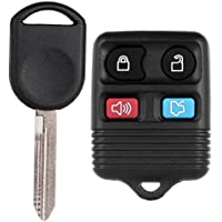 ECCPP Replacement Keyless Entry Remote Fob Ignition Transponder Chip Key For Ford