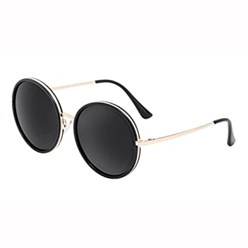 WX xin Gafas De Sol Sra Cara Pequeña Y Redonda Moda Matiz ...