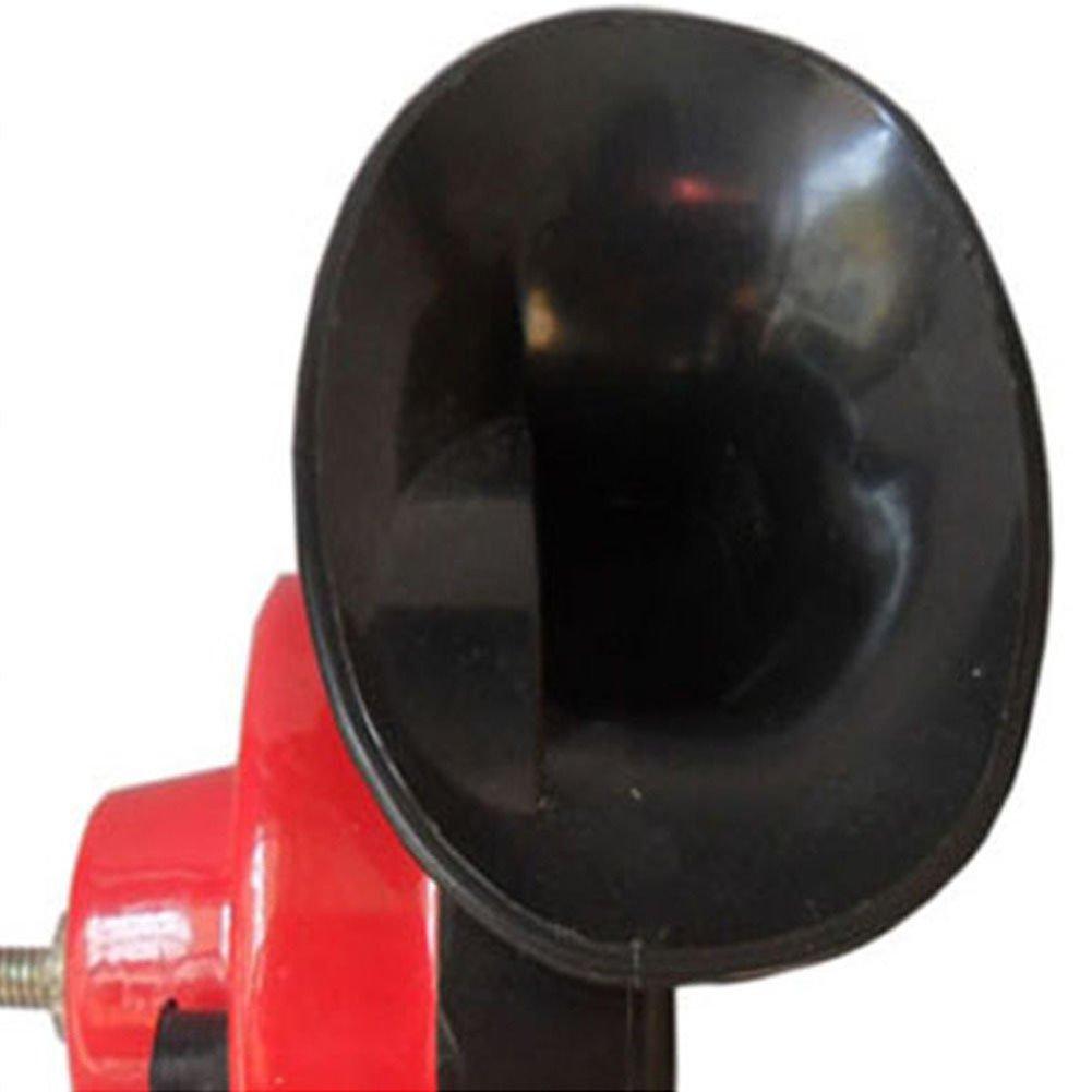 Taille Unique comme sur limage PUAK523/Klaxon de Voiture 12/V Dual Tone /électromagn/étiques Escargot Corne Niveau sonore 110/DB Universel V/éhicules Haut-Parleur Corne Voitures 1pi/èce camions