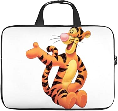 Winnie The Pooh Tigger Laptop Bag Protective Case Notebook Computer Pocket Case Zipper Bag 17inch