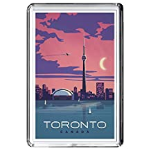 B660 TORONTO FRIDGE MAGNET CANADA VINTAGE TRAVEL PHOTO REFRIGERATOR MAGNET