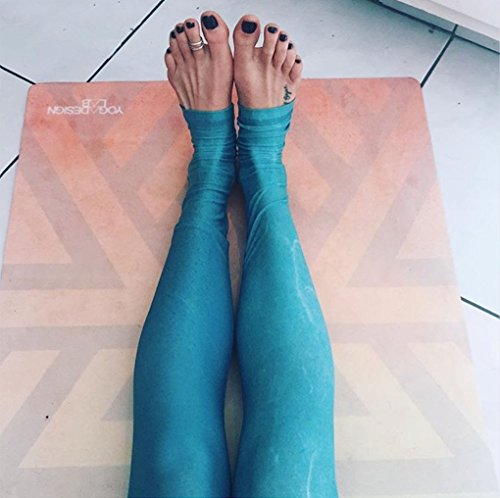 Luxury Sweat Grip Mat Towel: The Combo Yoga Mat. Luxurious, Non-slip, Mat/Towel