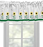 Sunflower Window Valance / Window Treatment – In Your Choice of Colors – Custom Made Review