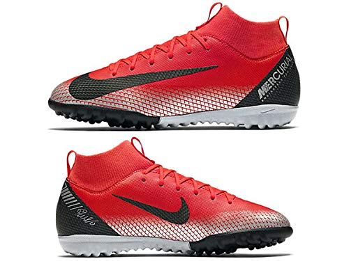 Bambini Crimson – Calcio Grey Unisex Tf Cr7 dk brt chrome Sperfly 6 Jr 600 Academy Da Gs Scarpe black Rosso Nike q7ZCxW