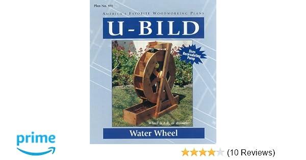 U Bild 891 Water Wheel Project Plan
