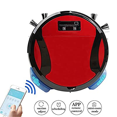 PAKWANG 330C Robotic Vacuum Cleaner with WIFI Connectivity Strong Suction Auto Recharge & Anti Falling Function