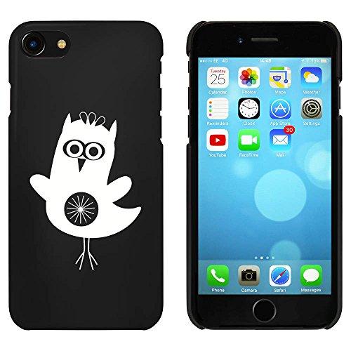 Noir 'Hibou Mignon' étui / housse pour iPhone 7 (MC00075197)