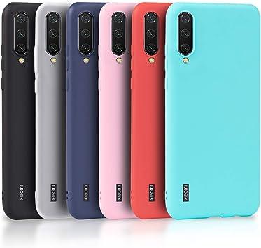 Wanxideng - 6X Funda para Xiaomi Mi A3, Carcasa en Silicona ...