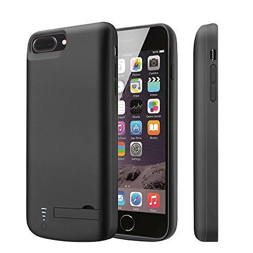 "iPhone 8 Plus/7 Plus/6(S)Plus Battery Case Lightning Headphones V-EWIGE Portable 8000mAh Rechargeable Extended Backup Battery Power Case for iPhone 8 Plus,7 Plus(5.5"") External Battery Juice Pack"