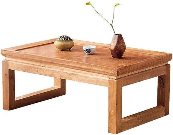 Muebles y accesorios de jardín Mesas Madera mesa de café en casa sólida mesa de ordenador