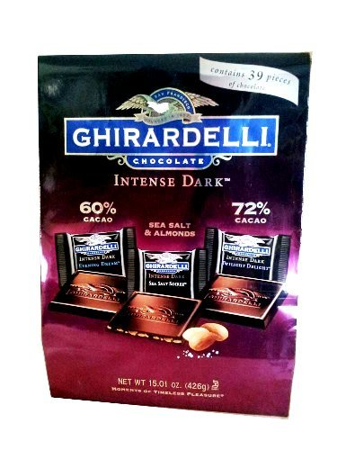 - Ghirardelli Chocolate Intense Dark Chocolate Variety, 15 oz