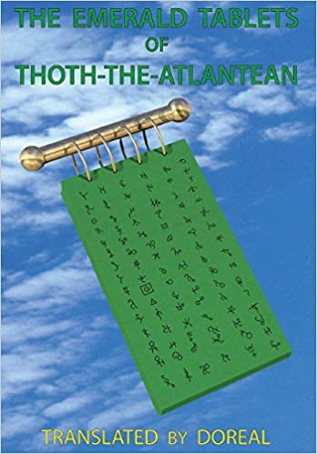 Amazon com: The Emerald Tablets of Thoth-The-Atlantean