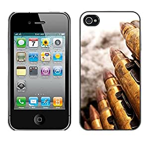 Paccase / SLIM PC / Aliminium Casa Carcasa Funda Case Cover - Bullet - Apple Iphone 4 / 4S