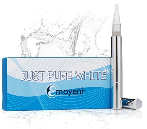 Blanchiment des dents Gel Pen Par Emoyeni® - Peroxyde gratuites - Ingrédients naturels - 100% Garantie de satisfaction - la meilleure façon pour blanchir les dents à la maison Kit. Pas de bandes Whitener