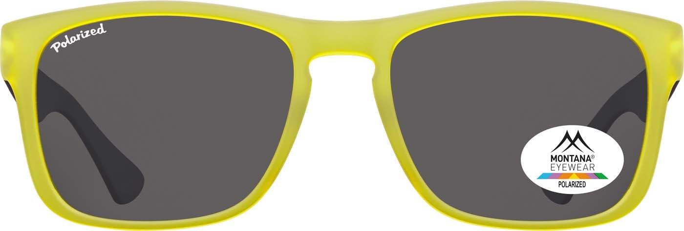 Montana Gafas Sunoptic MP39B gafas de sol de color amarillo incluyendo bolsa de tela: Amazon.es: Salud y cuidado personal